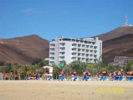 Ein Hotel am Strand von Jandia - Strand Jandia