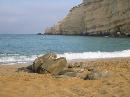 Matala - Red Beach