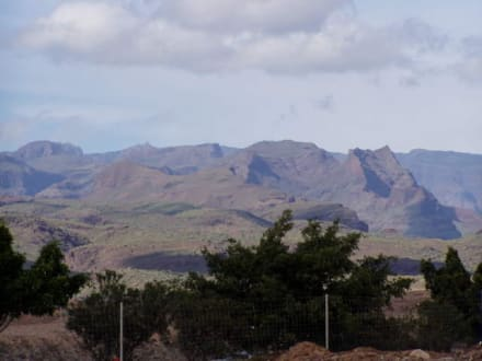 Maspalomas die Berge, Spanien - Dünen von Maspalomas