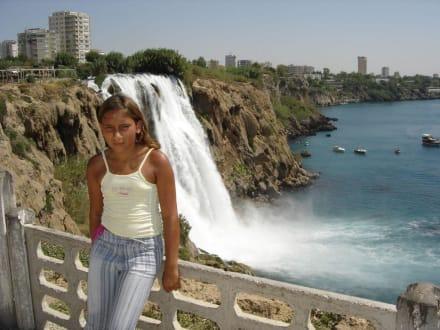 Wasserfall von Antalya - Unterer Düden Wasserfall / Karpuzkaldiran Şelalesi