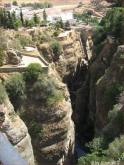 Schlucht El Tajo 2 - Neue Brücke