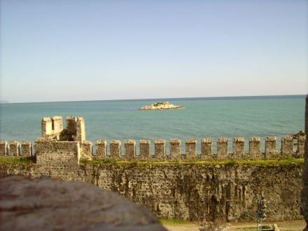 Schöner Ausblick - Mamure Kalesi (Burg von Anamur)