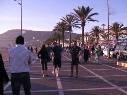 Strand/Küste/Hafen - Strandpromenade Agadir