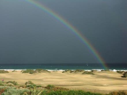 Playa del Ingels, Regenbogen - Strand Playa del Ingles