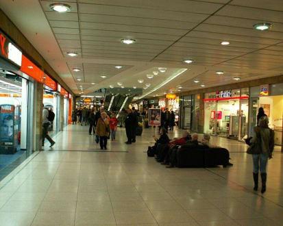 Einkaufszentrum - Leipzig Hauptbahnhof
