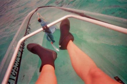 Glasboden-Kanu - Kanutour Isla Cozumel