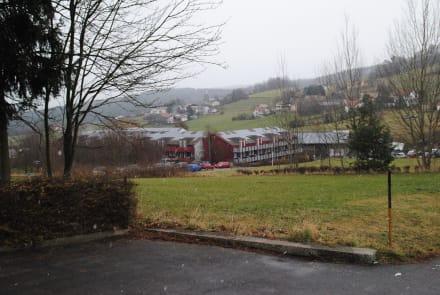 Blick auf die Anlage - Hotel Reiterhof Runding