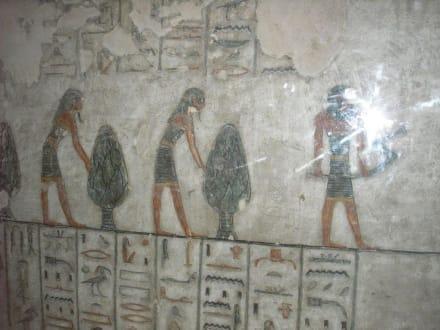 Wandmalerei in der Grabkammer Ramses IV. - Tal der Könige