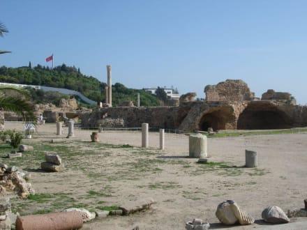 Nur noch wenige Steine übrig - Ausgrabungen Karthago