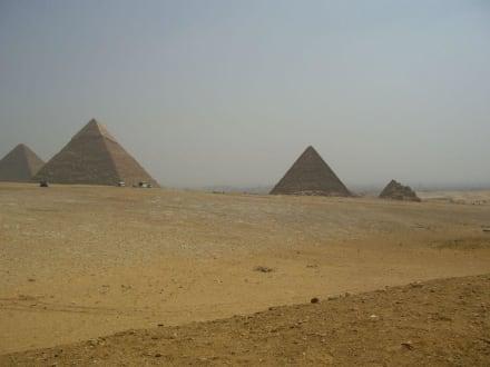 Pyramiden von Giseh - Pyramiden von Gizeh