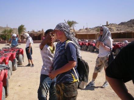 Quadfahren in der Wüste - Quad Tour Hurghada