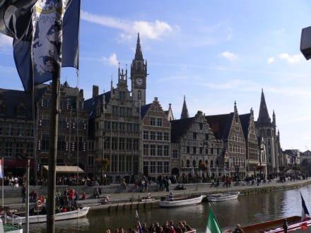 An den Ufern der Leie - Altstadt Gent