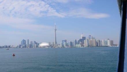 Skyline von Toronto - Toronto Islands