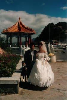 Brautpaar beim Shihmen Stausee - Shihmen Stausee
