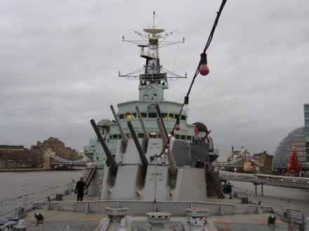 HMS Belfast - Themse