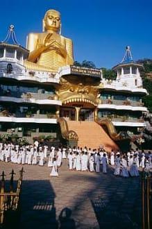 Dambulla - Tempelanlagen des Höhlentempels. - Höhlentempel Dambulla
