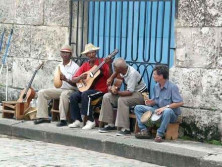 Musikanten - Altstadt Havanna