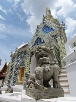 Tempel - Wat Phra Keo und Königspalast / Grand Palace