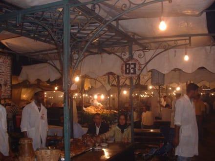 Garküchen - Place Djemaa el Fna