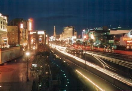 The Strip at night - Las Vegas Strip