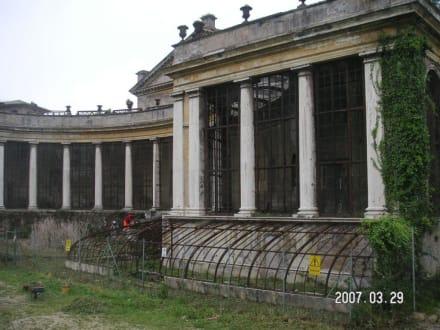 Verfallenes Theater im Park Torlonia - Park und Villa Torlonia