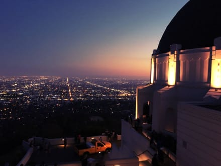 Griffith Observatory by Night - Griffith Park