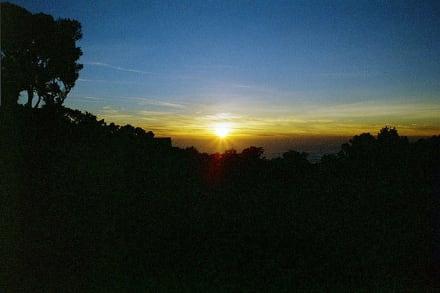 Sonnenaufgang - Kilimanjarobesteigung