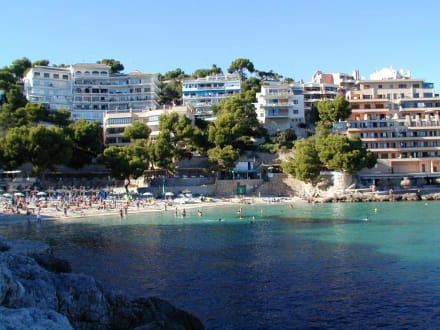 Strand von Illetas - Strand Illetas/Illetes