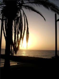 Traumhafter Sonnenuntergang - Strand Playa de las Americas