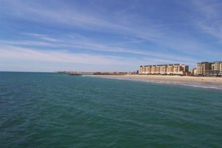 Blick von der Glenelg Jetty - Strand Glenelg
