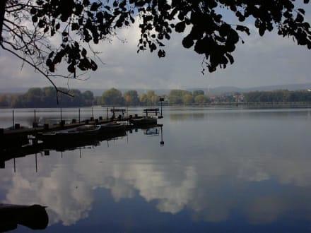 Der Seeburger See in Seeburg bei Duderstadt - Seeburger See