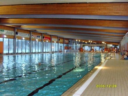 50-m-Sportbecken! - Dithmarscher Wasserwelt