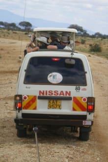 Bus - Tsavo West Nationalpark