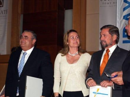 Vertreter kanarischer Hotels - HolidayCheck Award Gala
