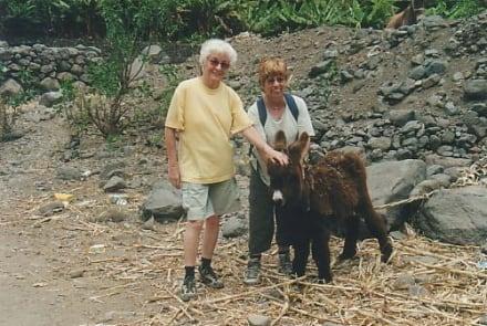 Freundschaften von unterwegs. - Wandern Riberia Grande