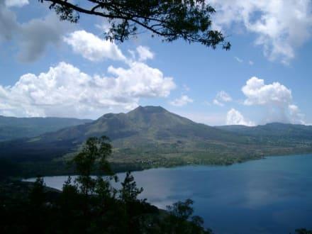 Vulkan Batur - Fahrt im Kübelwagen