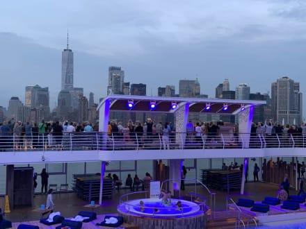 Skyline New York Bild Mein Schiff 6