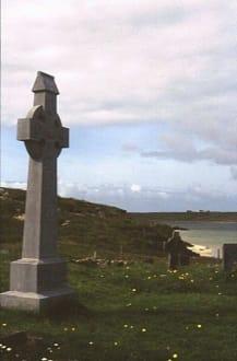 Der Friedhof auf Omey Island - Inselfriedhof