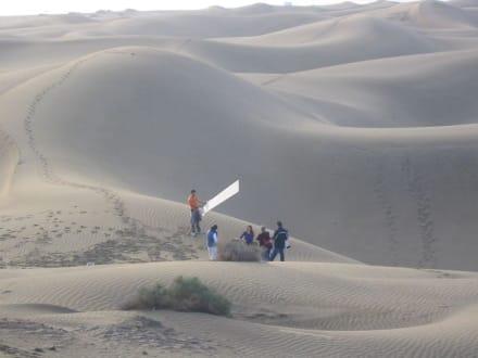 Foto Team  am Strand - Dünen von Maspalomas