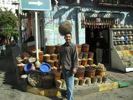 Gewürz Verkäufer - Zentrum Hurghada