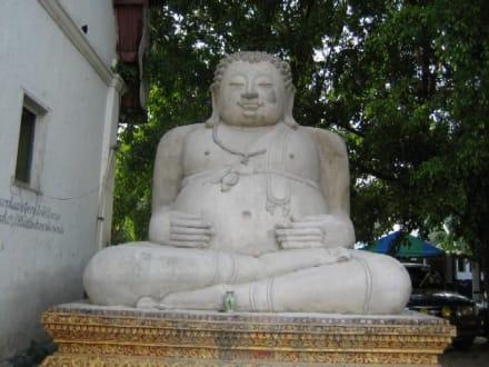 Ein schöner dicker Buddha - Wat Chedi Luang