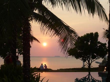 Ein toller Sonnenuntergang - Hotel Layana Resort & Spa