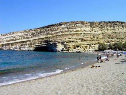 Strand von Matala - Strand Matala