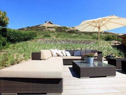 loungeecke in den d nen bild ferienhaus beach house in list sylt schleswig holstein deutschland. Black Bedroom Furniture Sets. Home Design Ideas