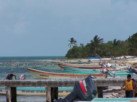 Punta Allen - Strand Punta Allen