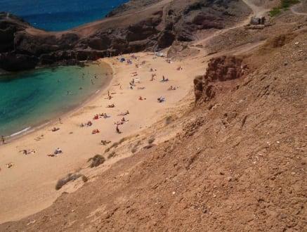 Schönster Strand der Insel Lanzarote, Playa de Papagayo - Playa de Papagayo