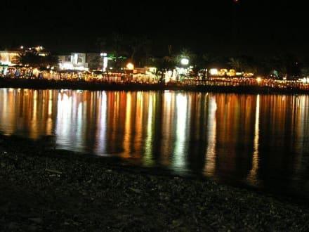 Dahab bei Nacht - Strand Dahab