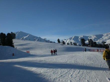 Die Piste in Schöneben - Skigebiet Schöneben