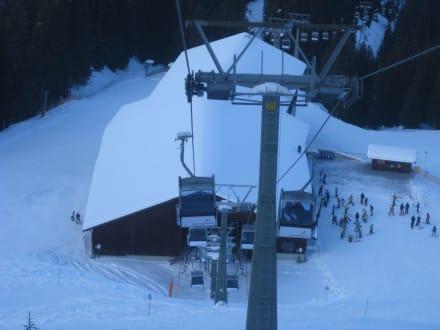 Mittelstation der Valiserabahn - Silvretta Montafon