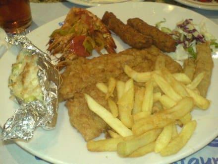Fischteller - Essen & Trinken